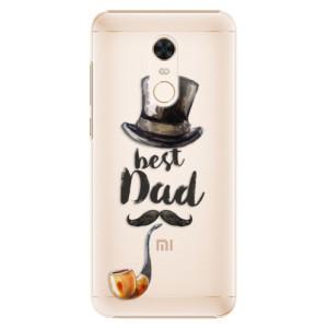 Plastové pouzdro iSaprio Best Dad na mobil Xiaomi Redmi 5 Plus