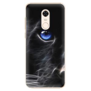 Plastové pouzdro iSaprio Black Puma na mobil Xiaomi Redmi 5 Plus
