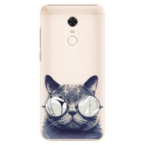 Plastové pouzdro iSaprio Šílená Číča 01 na mobil Xiaomi Redmi 5 Plus