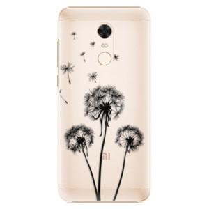 Plastové pouzdro iSaprio Tři Černé Pampelišky na mobil Xiaomi Redmi 5 Plus