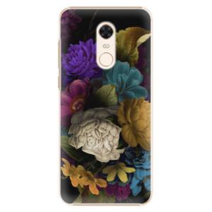 Plastové pouzdro iSaprio Temné Květy na mobil Xiaomi Redmi 5 Plus