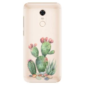 Plastové pouzdro iSaprio Kaktusy 01 na mobil Xiaomi Redmi 5 Plus