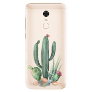 Plastové pouzdro iSaprio Kaktusy 02 na mobil Xiaomi Redmi 5 Plus