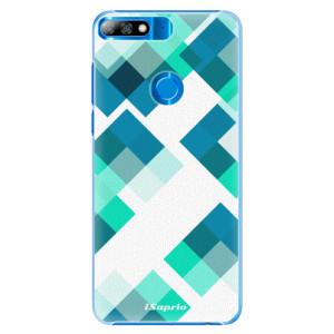 Plastové pouzdro iSaprio Abstract Squares 11 na mobil Huawei Y7 Prime 2018