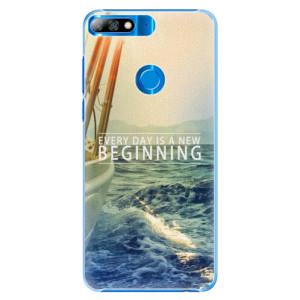Plastové pouzdro iSaprio Beginning na mobil Huawei Y7 Prime 2018