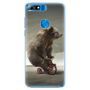 Plastové pouzdro iSaprio Medvěd 01 na mobil Huawei Y7 Prime 2018