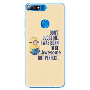 Plastové pouzdro iSaprio Be Awesome na mobil Huawei Y7 Prime 2018