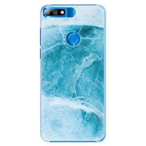 Plastové pouzdro iSaprio Blue Marble na mobil Huawei Y7 Prime 2018