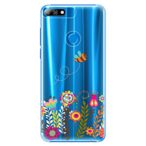 Plastové pouzdro iSaprio Včelka Pája 01 na mobil Huawei Y7 Prime 2018