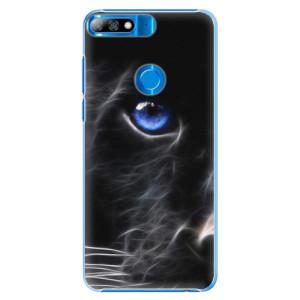 Plastové pouzdro iSaprio Black Puma na mobil Huawei Y7 Prime 2018