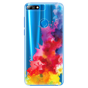 Plastové pouzdro iSaprio Color Splash 01 na mobil Huawei Y7 Prime 2018