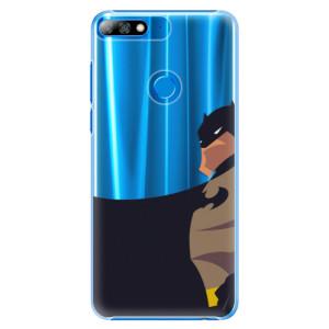Plastové pouzdro iSaprio BaT Komiks na mobil Huawei Y7 Prime 2018