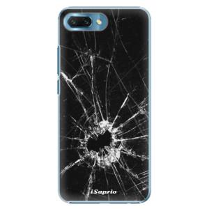 Plastové pouzdro iSaprio Broken Glass 10 na mobil Honor 10