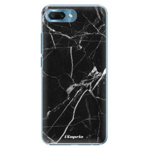 Plastové pouzdro iSaprio Black Marble 18 na mobil Honor 10