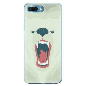Plastové pouzdro iSaprio Naštvanej Medvěd na mobil Honor 10