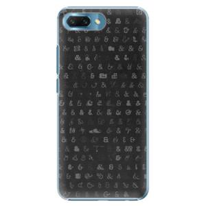 Plastové pouzdro iSaprio Ampersand 01 na mobil Honor 10