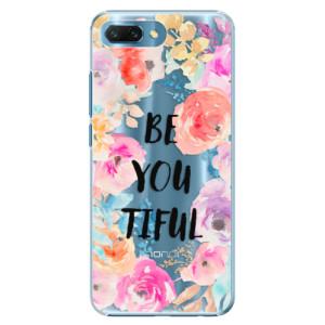 Plastové pouzdro iSaprio BeYouTiful na mobil Honor 10