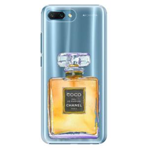 Plastové pouzdro iSaprio Chanel Gold na mobil Honor 10