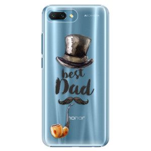 Plastové pouzdro iSaprio Best Dad na mobil Honor 10