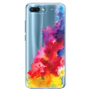 Plastové pouzdro iSaprio Color Splash 01 na mobil Honor 10