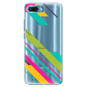 Plastové pouzdro iSaprio Barevné Pruhy 03 na mobil Honor 10