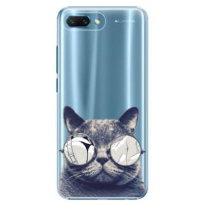 Plastové pouzdro iSaprio Šílená Číča 01 na mobil Honor 10