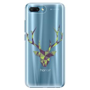 Plastové pouzdro iSaprio Zelený Jelínek na mobil Honor 10