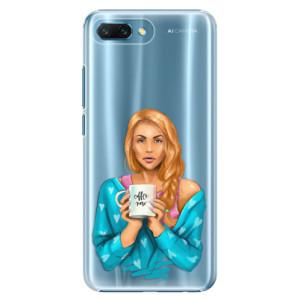 Plastové pouzdro iSaprio Coffee Now Zrzka na mobil Honor 10