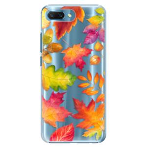 Plastové pouzdro iSaprio Podzimní Lístečky na mobil Honor 10
