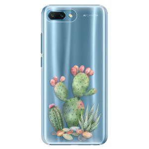 Plastové pouzdro iSaprio Kaktusy 01 na mobil Honor 10