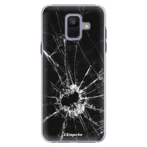 Plastové pouzdro iSaprio Broken Glass 10 na mobil Samsung Galaxy A6