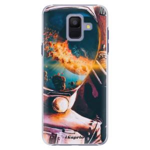 Plastové pouzdro iSaprio Astronaut 01 na mobil Samsung Galaxy A6