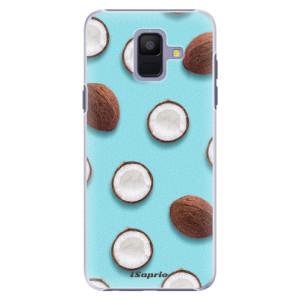 Plastové pouzdro iSaprio Kokos 01 na mobil Samsung Galaxy A6