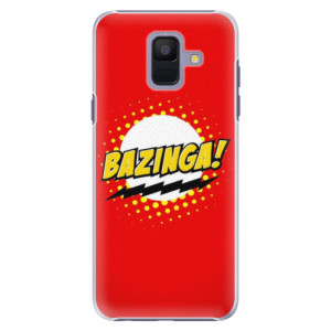 Plastové pouzdro iSaprio Bazinga 01 na mobil Samsung Galaxy A6
