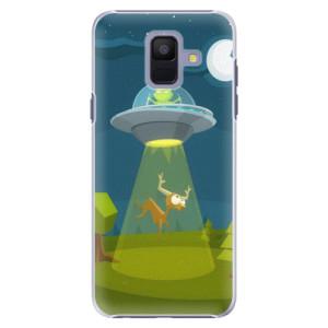Plastové pouzdro iSaprio Ufouni 01 na mobil Samsung Galaxy A6