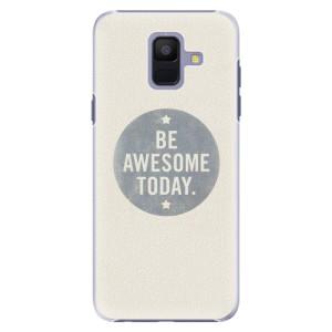 Plastové pouzdro iSaprio Awesome 02 na mobil Samsung Galaxy A6