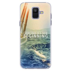 Plastové pouzdro iSaprio Beginning na mobil Samsung Galaxy A6