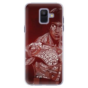 Plastové pouzdro iSaprio Bruce Lee na mobil Samsung Galaxy A6