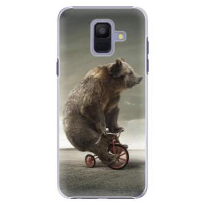 Plastové pouzdro iSaprio Medvěd 01 na mobil Samsung Galaxy A6