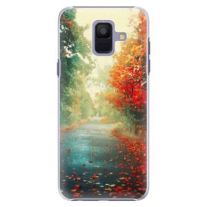 Plastové pouzdro iSaprio Podzim 03 na mobil Samsung Galaxy A6