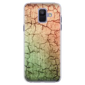 Plastové pouzdro iSaprio Rozpraskaná Zeď 01 na mobil Samsung Galaxy A6