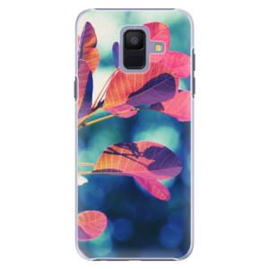 Plastové pouzdro iSaprio Podzim 01 na mobil Samsung Galaxy A6