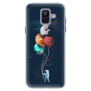 Plastové pouzdro iSaprio Balónky 02 na mobil Samsung Galaxy A6
