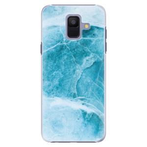 Plastové pouzdro iSaprio Blue Marble na mobil Samsung Galaxy A6