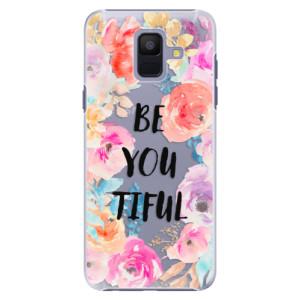 Plastové pouzdro iSaprio BeYouTiful na mobil Samsung Galaxy A6