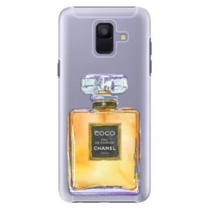 Plastové pouzdro iSaprio Chanel Gold na mobil Samsung Galaxy A6