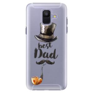 Plastové pouzdro iSaprio Best Dad na mobil Samsung Galaxy A6