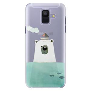 Plastové pouzdro iSaprio Medvěd s Lodí na mobil Samsung Galaxy A6