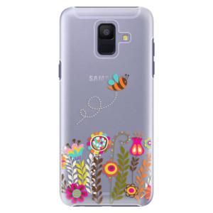 Plastové pouzdro iSaprio Včelka Pája 01 na mobil Samsung Galaxy A6