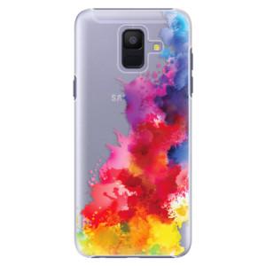 Plastové pouzdro iSaprio Color Splash 01 na mobil Samsung Galaxy A6